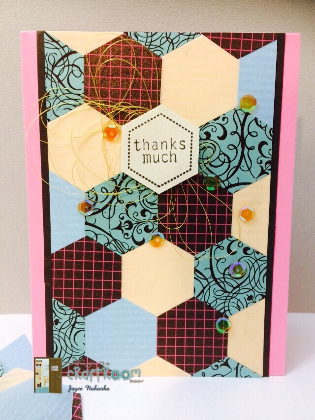Through the craft room door s dt card using paper for Craft paper card stock